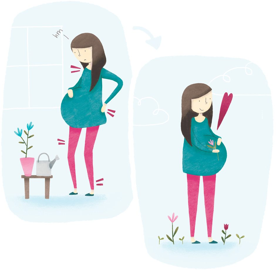 Pilates vadba za nosečnice